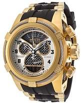Invicta 16317 Men's Bolt Zeus Reserve Yellow Gold Steel & Rubber Strap Chrono Dive Watch
