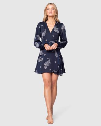 Pilgrim Women's Navy Midi Dresses - Mambila Mini Dress - Size One Size, 6 at The Iconic