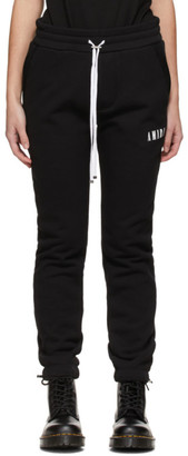 Amiri Black Core Logo Lounge Pants