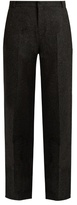 Raey Boyfriend speckled-tweed trousers