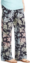 Motherhood Jessica Simpson Smock Waist Challis Wide Leg Maternity Pants