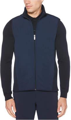 Perry Ellis Men Fleece Zip Vest