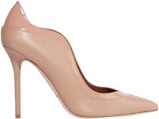 Malone Souliers Penelope 100 Smooth And Patent-leather Pumps