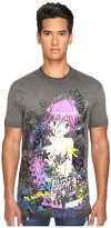DSQUARED2 Long Cool Fit Punk Manga Gang T-Shirt Men's T Shirt