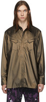 Needles Brown Coated Cowboy Shirt
