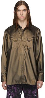 Needles Brown Coated Cowboy Shirt