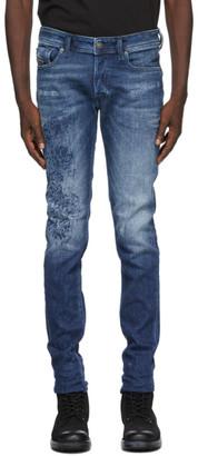 Diesel Blue Sleenker-X Jeans