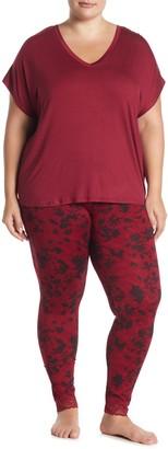 Joe Fresh Dolman Top & Leggings Pajama 2-Piece Set (Plus Size)