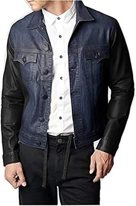 True Religion Men's Danny Slim Moto Jacket