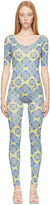 Thumbnail for your product : MAISIE WILEN Blue Altered State Jumpsuit