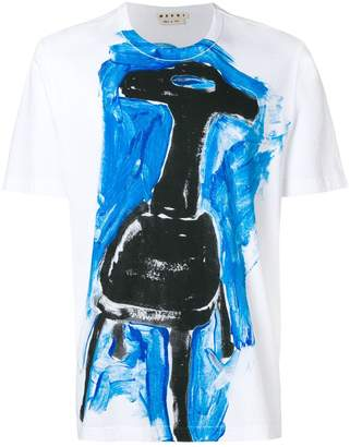 Marni printed crew neck T-shirt