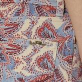 Lauren Ralph Lauren Ralph Paisley Straight Ankle Pant