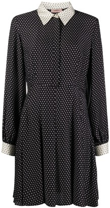 Twin-Set Polka Dot Shirt Dress