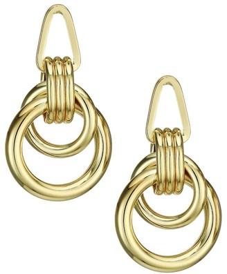 Jules Smith Designs Roped Up Double Hoop Earrings
