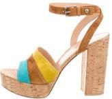 Gianvito Rossi Cork Platform Sandals w/ Tags