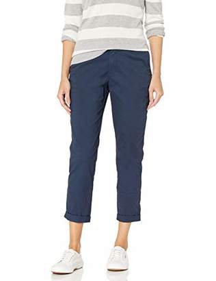 Amazon Essentials Women's Cropped Girlfriend Chino