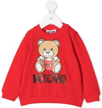 MOSCHINO BAMBINO Teddy Bear Sweatshirt