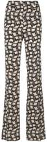 Prada printed high-waisted trousers