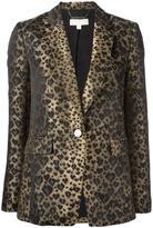 MICHAEL Michael Kors leopard print blazer
