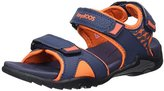 KangaROOS Unisex Kids' Inclas Open Toe Sandals blue Size: 1.5