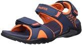 KangaROOS Unisex Kids' Inclas Open Toe Sandals blue Size: