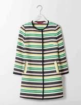 Boden Eve Stripey Coat