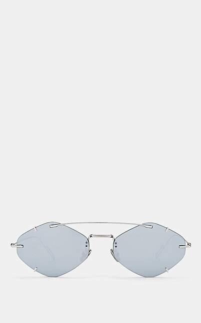 9dd64b34f4c66 Christian Dior Silver Men s Sunglasses - ShopStyle