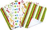 Trend Lab Dr. Seuss 5 Piece Burp Cloth Bundle Box Set