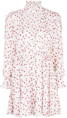 Fleur Du Mal floral print flared dress