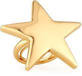 Kenneth Jay Lane Polished Golden Star Ring