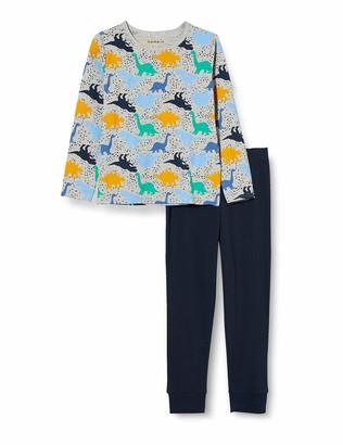 Name It Boy's Nkmnightset 2p Ls Inj Pajama Set