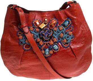 Marc Jacobs Orange Patent leather Handbags