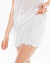Soma Intimates Pajama Shorts Bright White