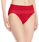 Warner's Women's No Pinching. No Problems. Seamless Hi-Cut Brief Panty