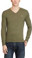 Polo Ralph Lauren Slim Fit Cotton-cashmere V-neck Jumper