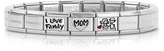 Nomination My Family Enamelled Stainless Steel Bracelet w/Cubic Zirconia