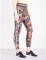 The Upside Butterfly stretch-jersey leggings