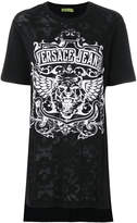 Versace tiger logo print T-shirt