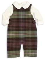 Ralph Lauren Baby's Two-Piece Bodysuit & Overall Set