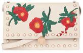 Ocean floral crossbody bag