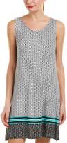 Ellen Tracy Cutout Back Nightgown