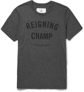 Reigning Champ - Printed Ring-spun Cotton-jersey T-shirt