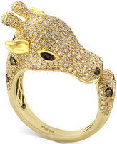 Effy Diamond Giraffe Ring (1-1/2 ct. t.w.) in 14k Gold