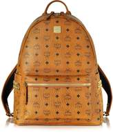 MCM Medium Stark Cognac Backpack