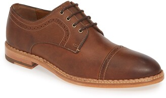 Johnston & Murphy 1850 Chambliss Cap Toe Derby