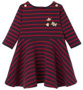 Petit Bateau Baby girls striped dress