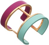 Vince Camuto Two Color Dipped Cuff Bracelet