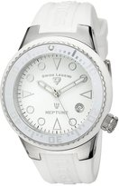 Swiss Legend Women's 11044D-02-WHT Neptune Dial Silicone Watch