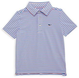Vineyard Vines Little Boy's & Boy's Striped Clubhouse Polo Shirt