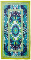 Theodora & Callum Women's Spin Art Scarf, Blue/Multi